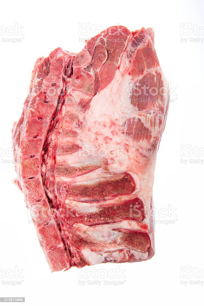 Raw meat pig stock photo