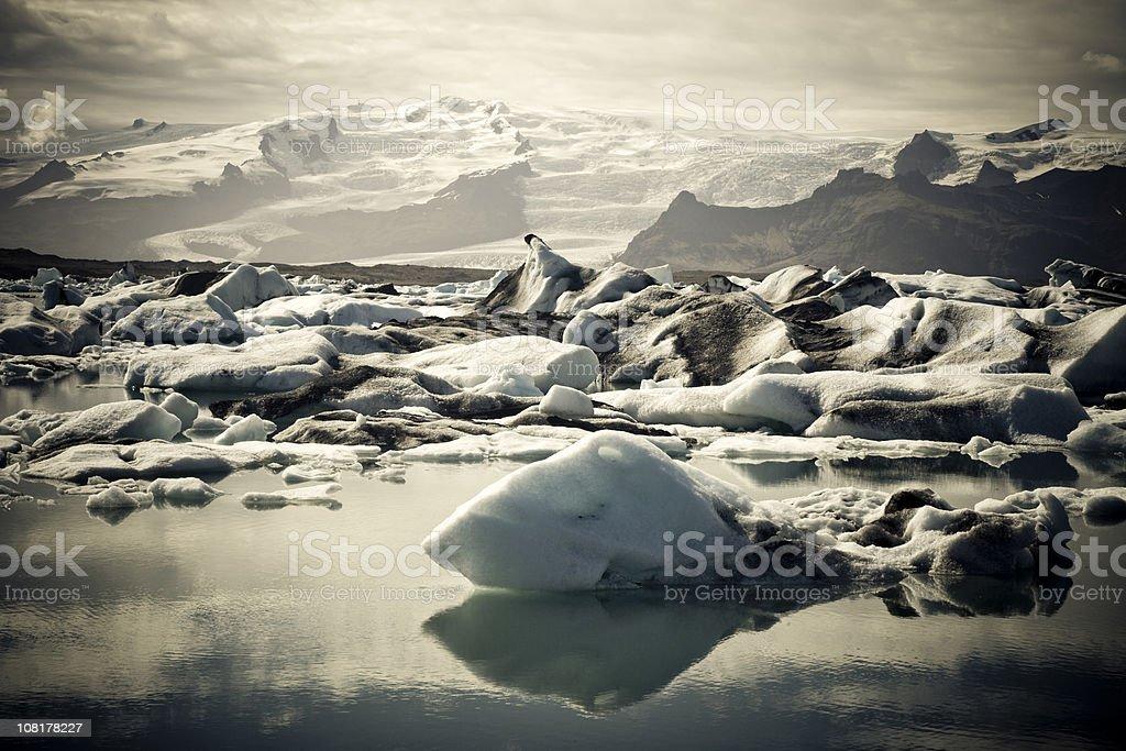 Raw Nature Icebergs Series IV royalty-free stock photo