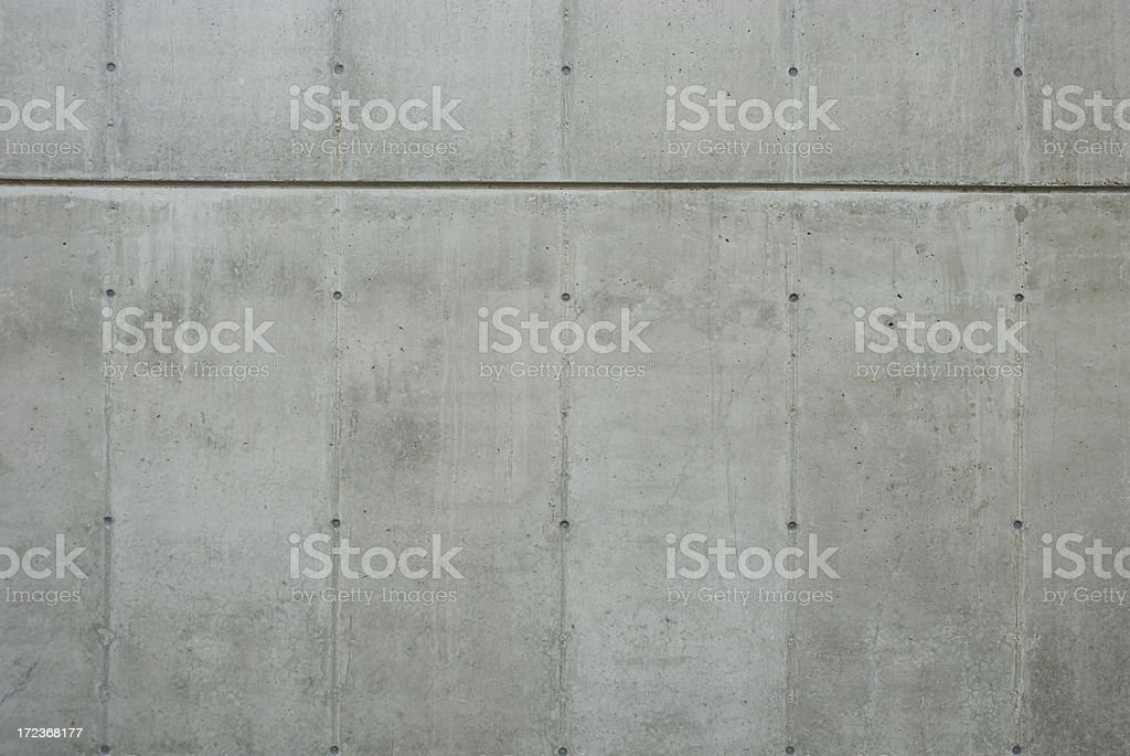 Raw New Concrete Wall Background with Texture royalty-free stock photo