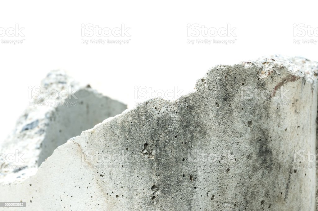 Raw of concrete cracked texture for background stock photo