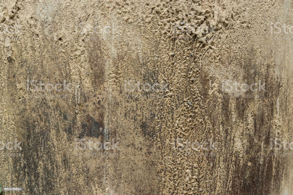 Raw of concrete texture with sand for background stock photo
