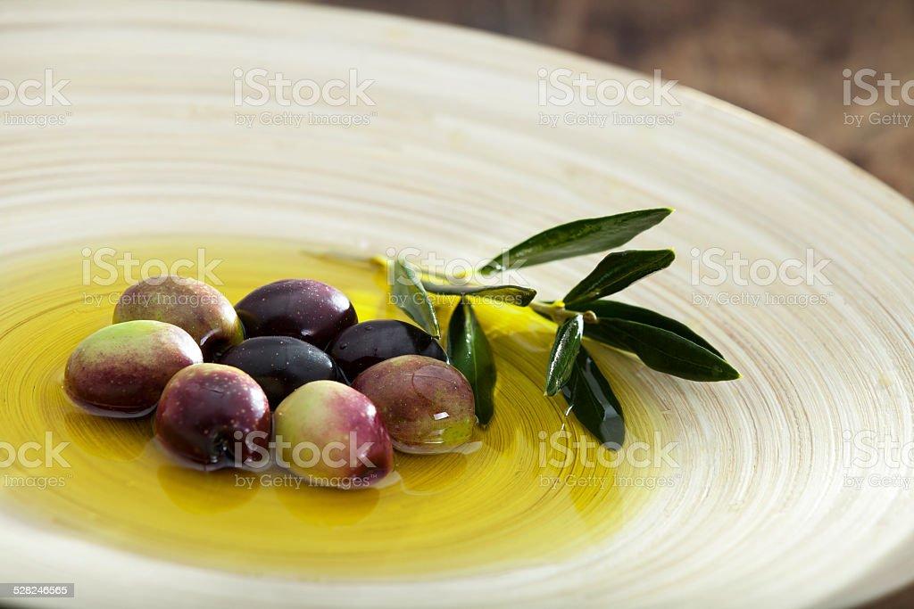 Primas de oliva - foto de stock