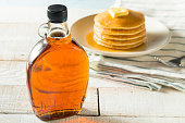 Raw Organic Amber Maple Syrup from Canada