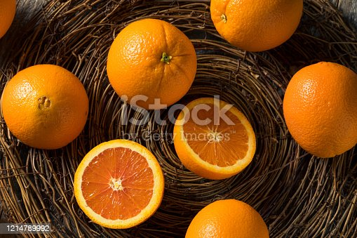 Raw Organic Cara Navel Oranges Ready to Eat