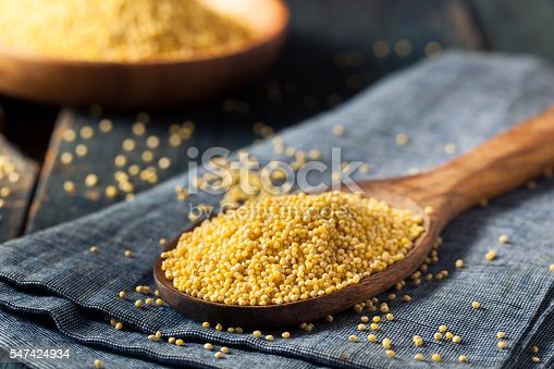 istock Raw Organic Healthy Millet 547424934