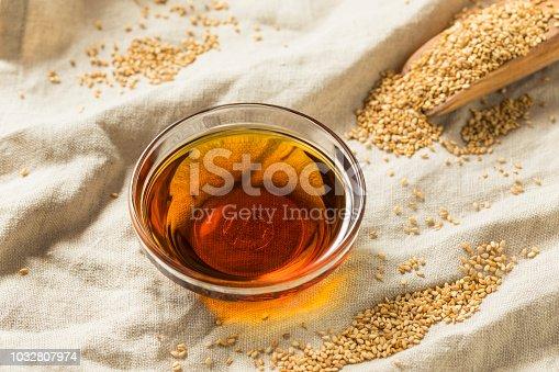 istock Raw Organic Sesame Oil 1032807974