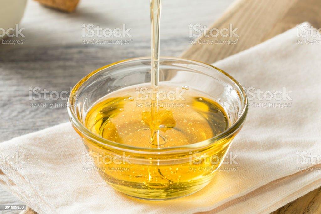 Jarabe de Agave Light dulce orgánica cruda - foto de stock