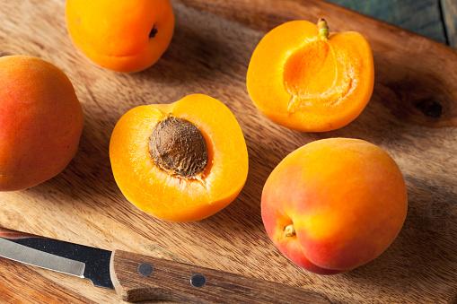 istock Raw Organic Yellow Apricots 530185132