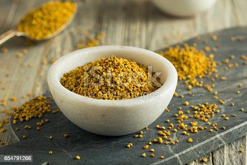 istock Raw Organic Yellow Bee Pollen 654791266