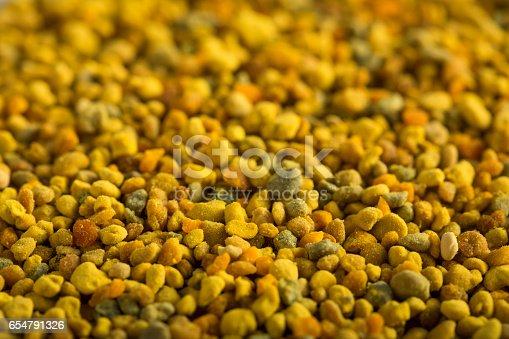 istock Raw Organic Yellow Bee Pollen 654791326