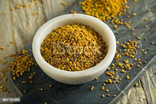 istock Raw Organic Yellow Bee Pollen 654791580