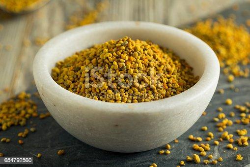 istock Raw Organic Yellow Bee Pollen 654792560