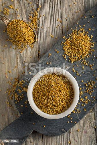 istock Raw Organic Yellow Bee Pollen 654795042