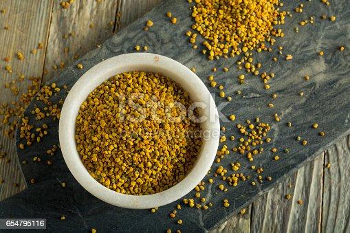 istock Raw Organic Yellow Bee Pollen 654795116