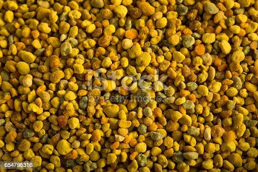 istock Raw Organic Yellow Bee Pollen 654795316