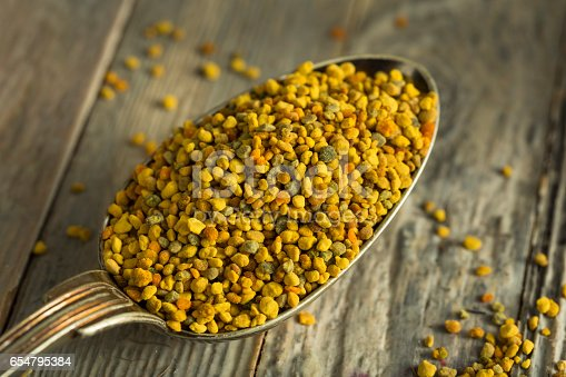istock Raw Organic Yellow Bee Pollen 654795384
