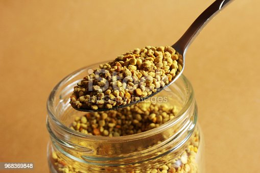 istock Raw Organic Yellow Bee Pollen 968369848