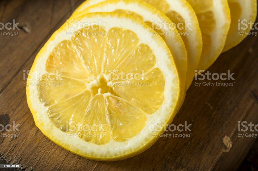 Ham organik sarı limon royalty-free stock photo