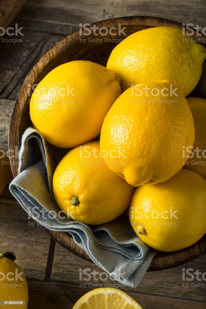 Ham organik sarı limon royalty-free stock photo