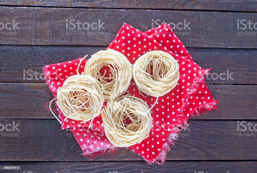 raw pasta royalty-free stock photo