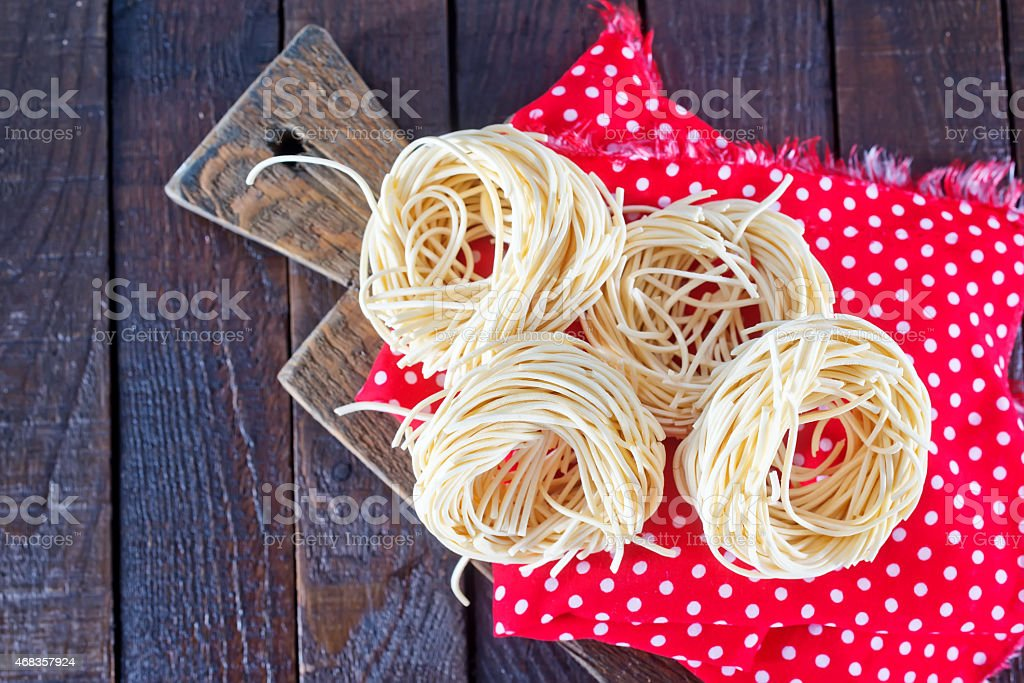 raw pasta royalty-free stock photo