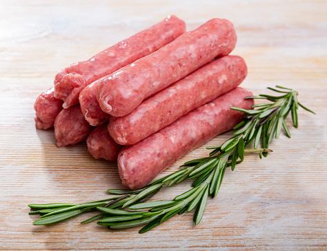 Raw pork sausage botifarra