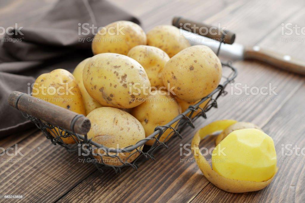 Raw potato food royalty-free 스톡 사진