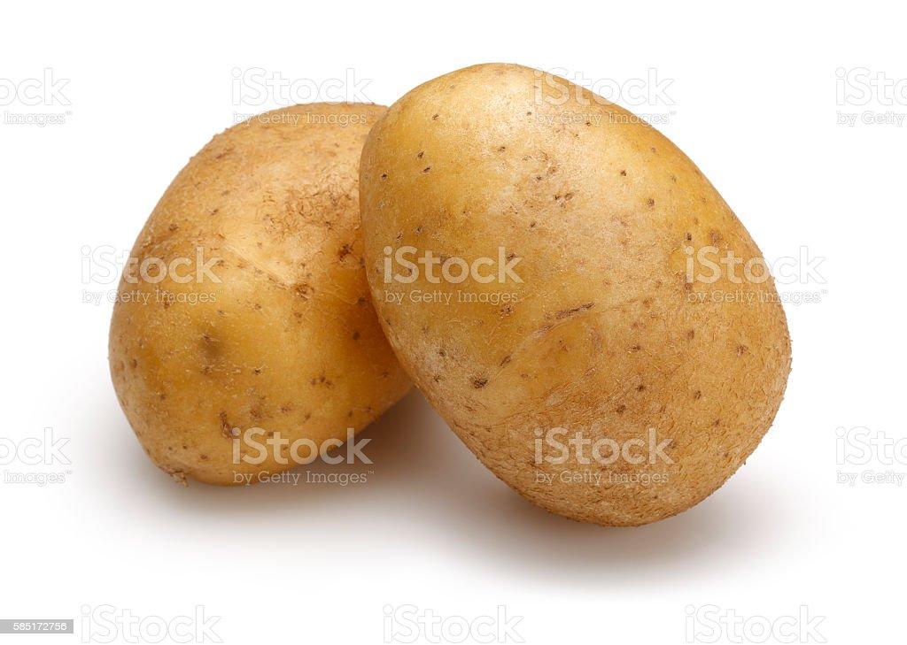 Raw batatas - foto de acervo