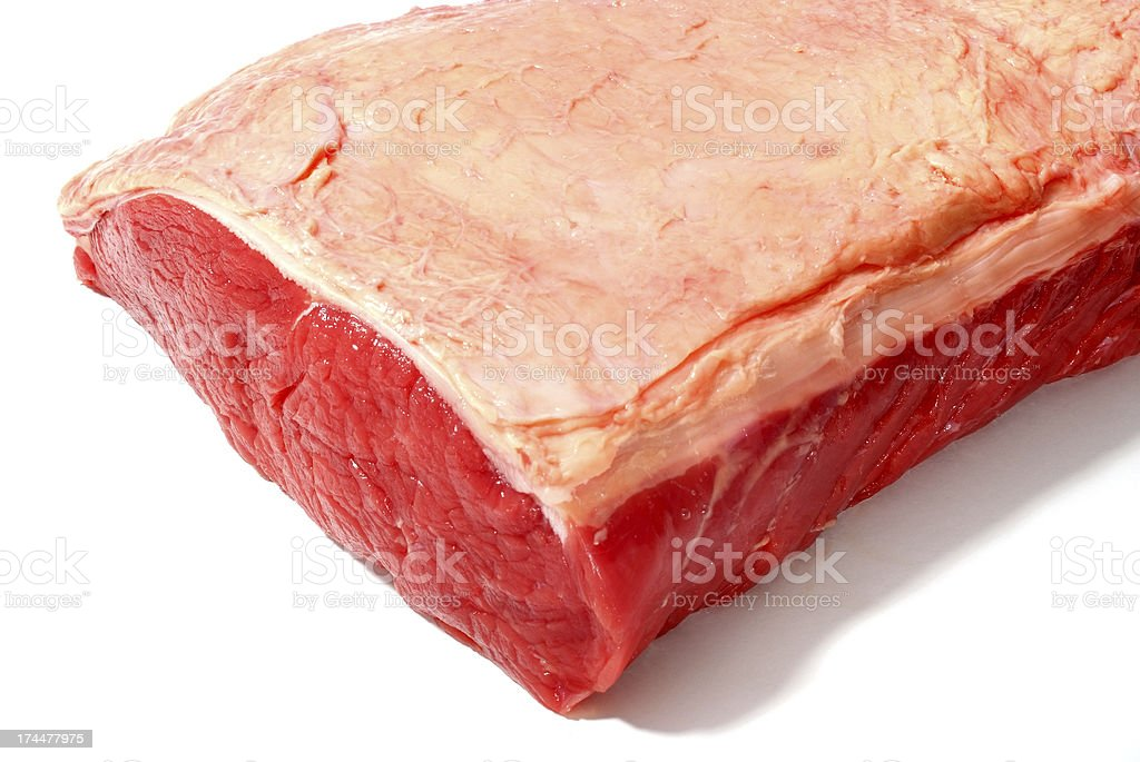 Raw red meat royalty-free stock photo