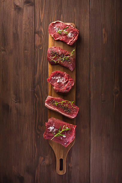 raw red meat – Foto