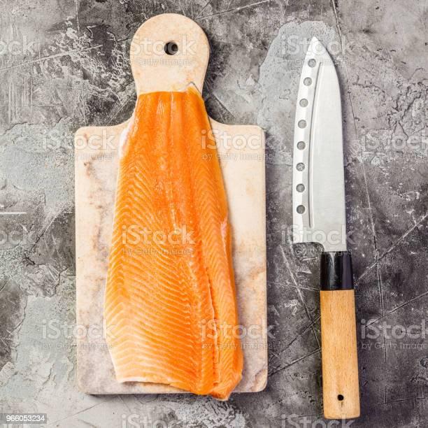 Rå Lax Filet Och Ingredienser-foton och fler bilder på Asien