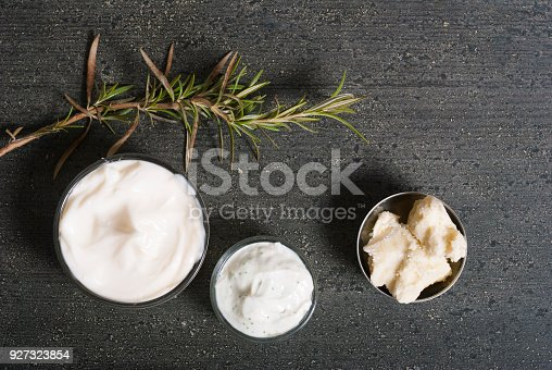 istock Raw shea butter and cosmetic cream 927323854