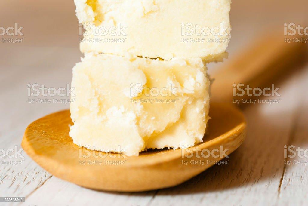 Raw shea butter - Photo