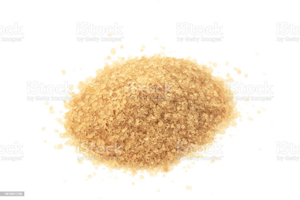 Raw Sugar stock photo