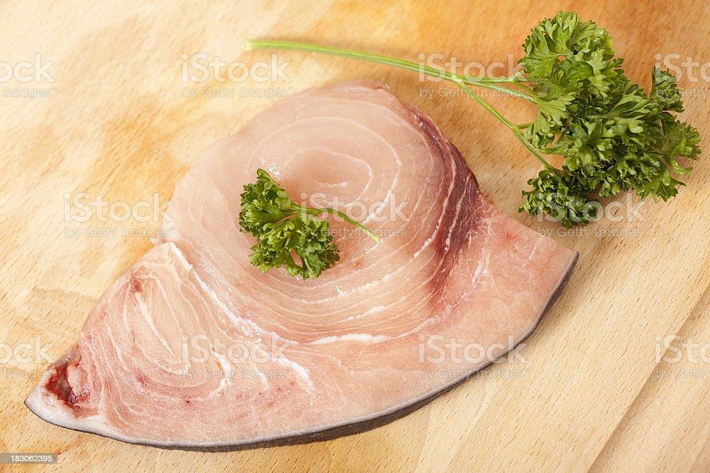 Raw Schwertfisch-Filet – Foto