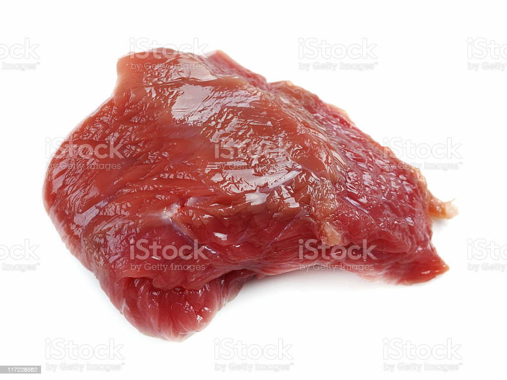 Raw veal meat royalty-free stock photo