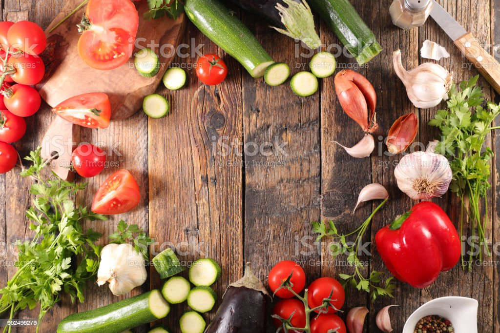 raw vegetable, cooking concept - Royalty-free Bell Pepper Stock Photo