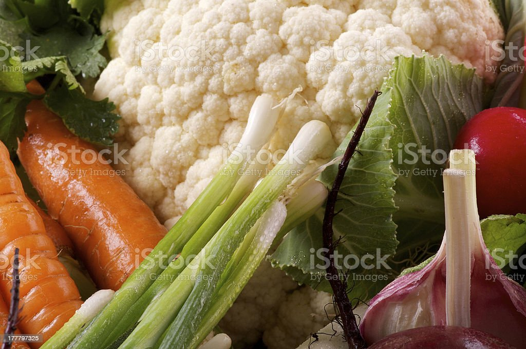 Raw Vegetables Background royalty-free stock photo