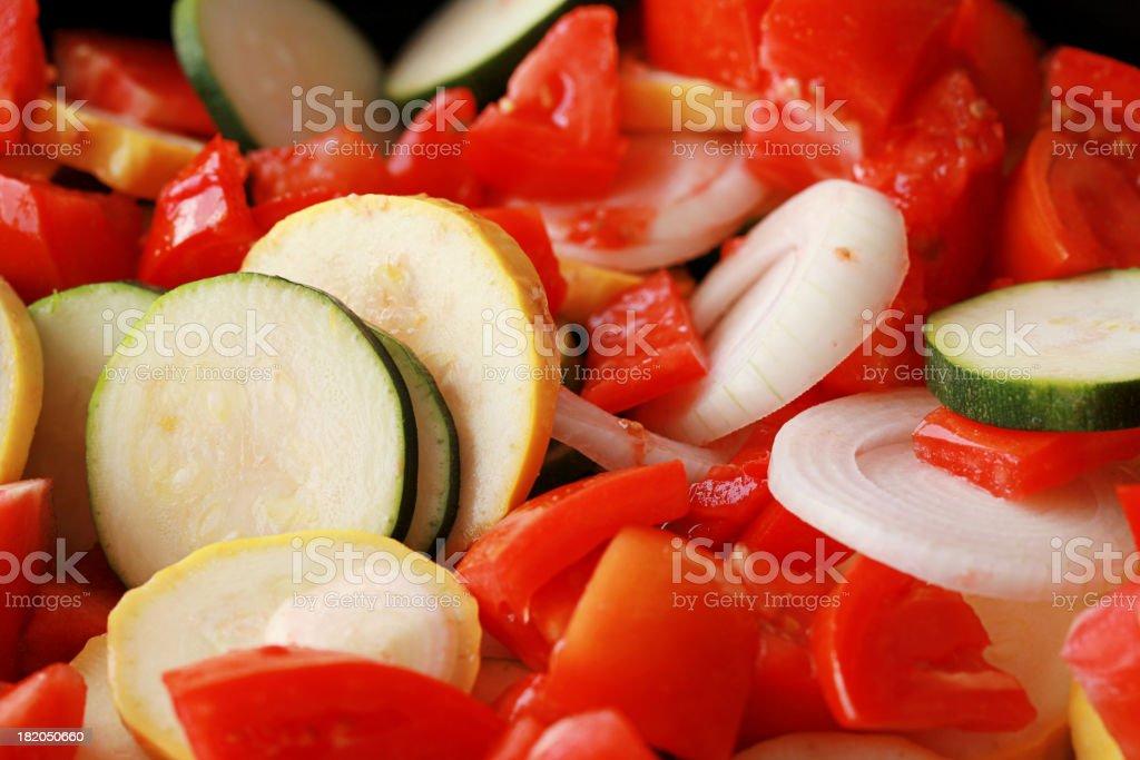 Raw Vegetables Horizontal royalty-free stock photo
