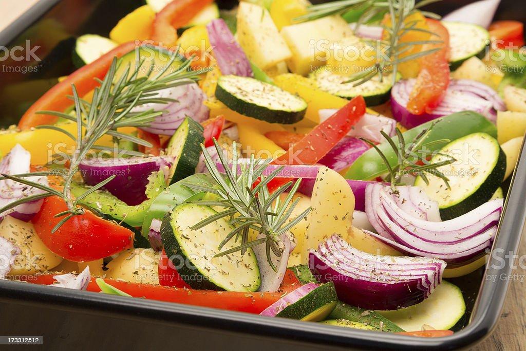Rohes Gemüse bereit für Keks – Foto