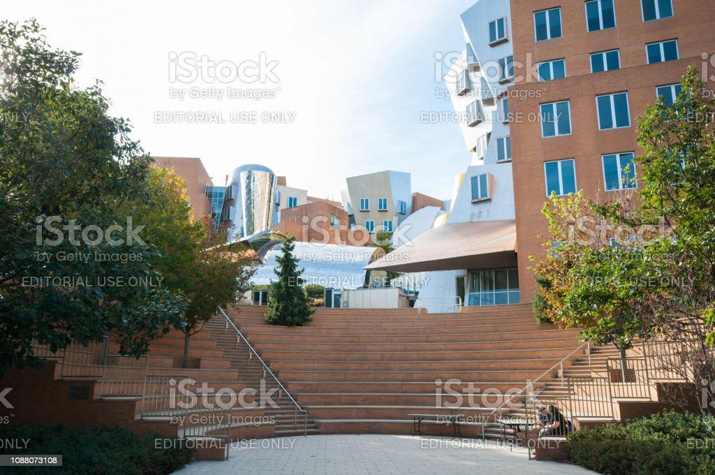 Ray und Maria Stata Center von MIT- – Foto