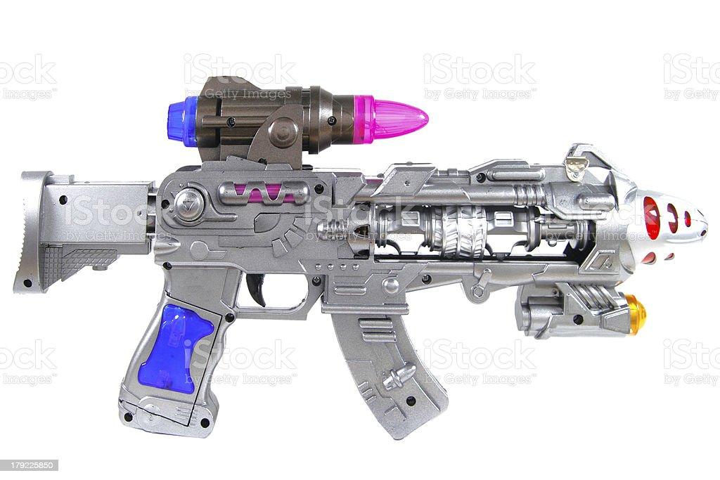 ray gun royalty-free stock photo