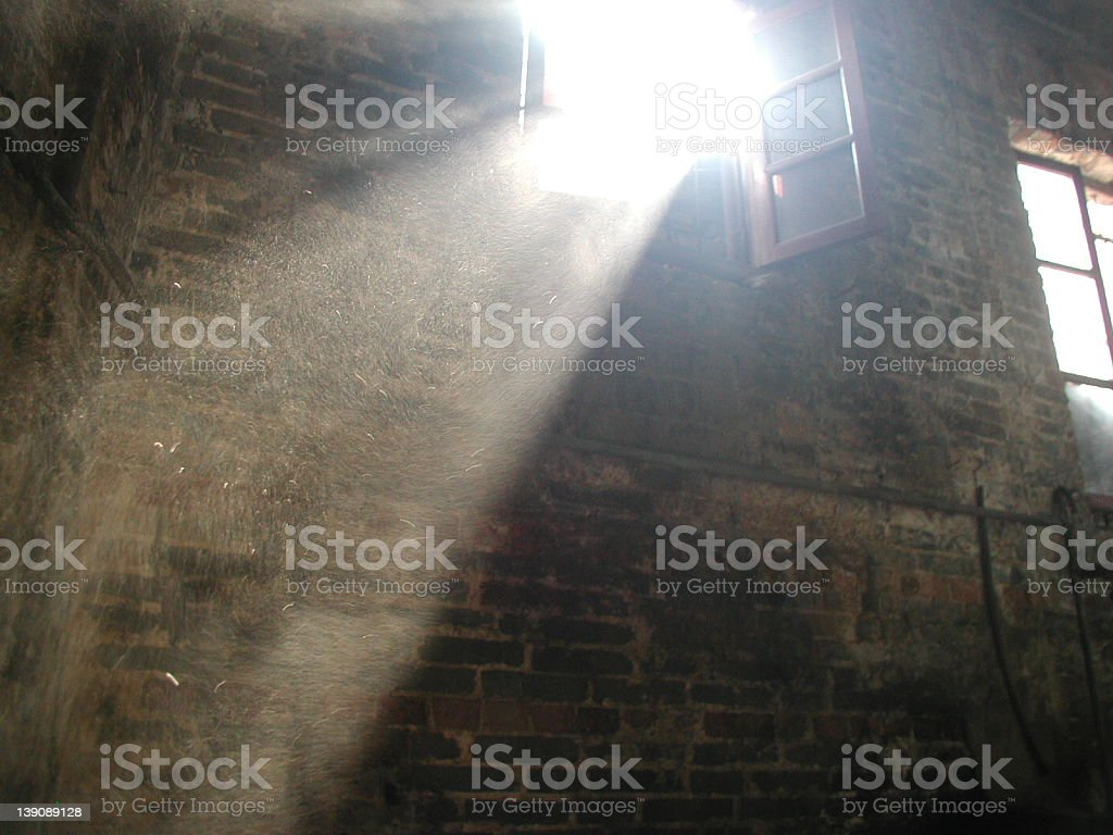 ray of light stock photo