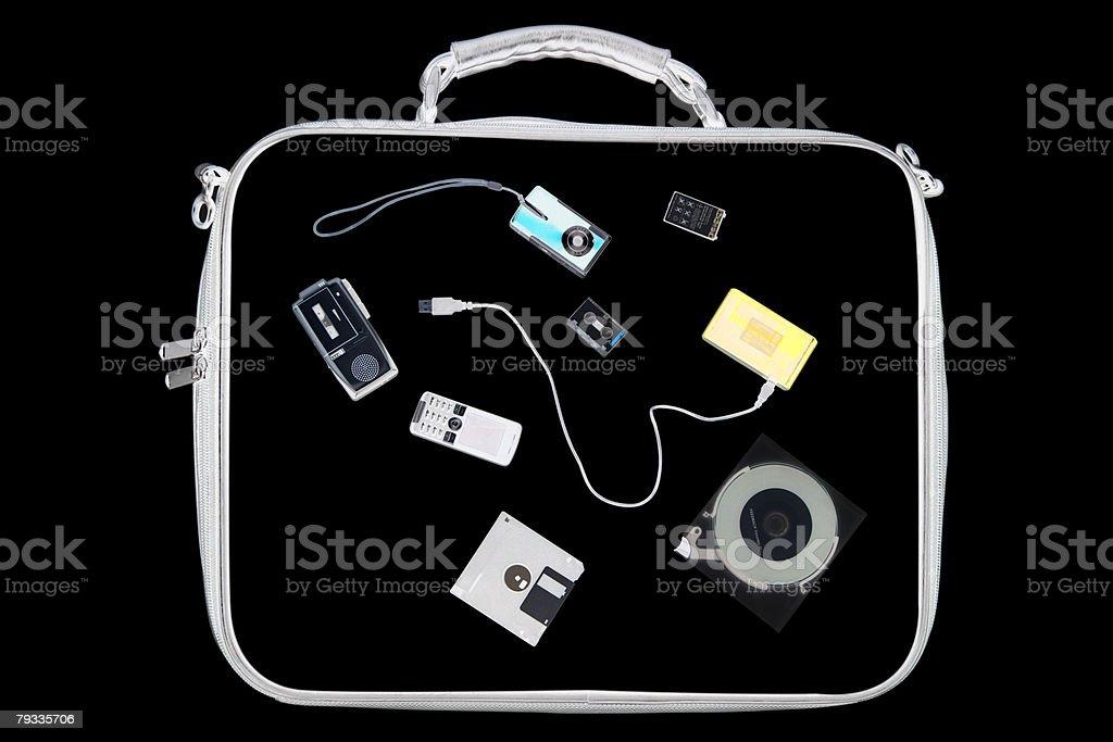 X-ray of Gegenstände in der Tasche – Foto
