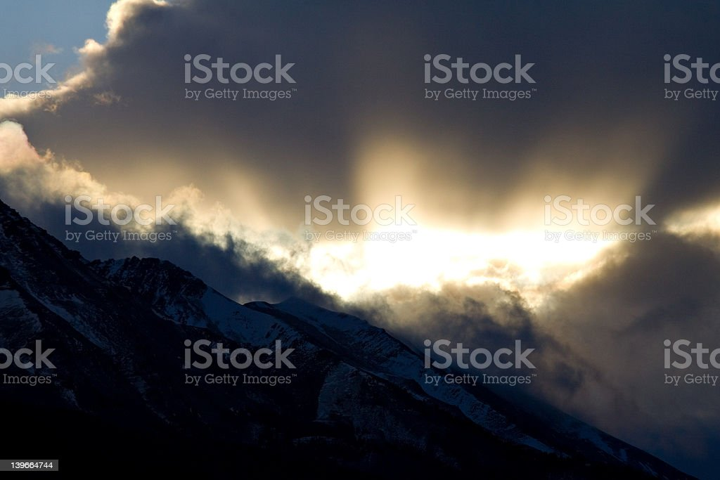 Rays of Light royalty-free stock photo
