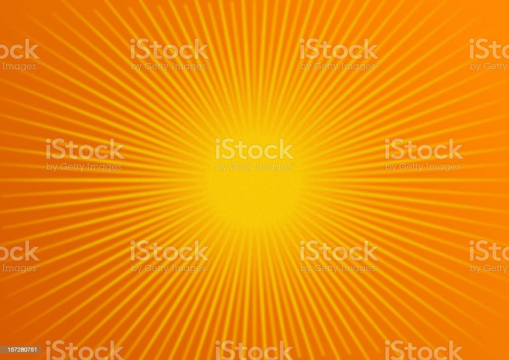 rays: tangerine stock photo