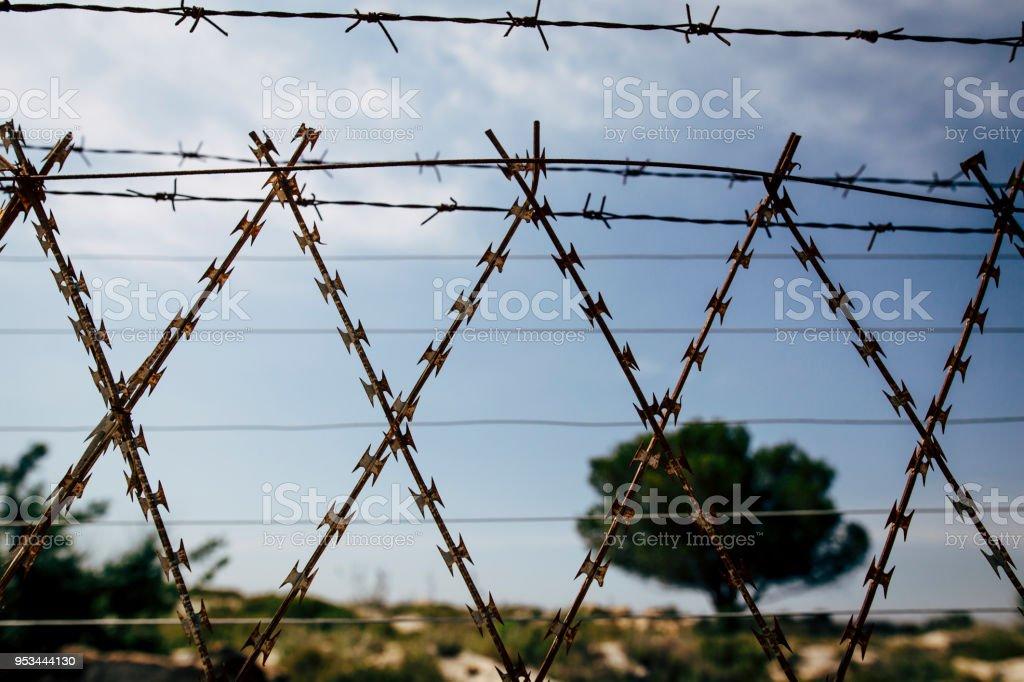 Razor Wire Fence Stock Photo Download Image Now Istock