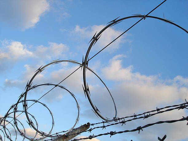 Best Razor Wire Stock Photos Pictures Amp Royalty Free