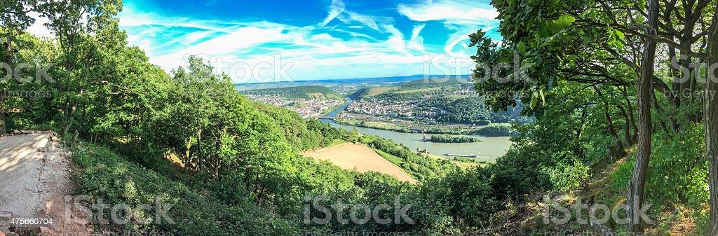 Rüdesheim stock photo