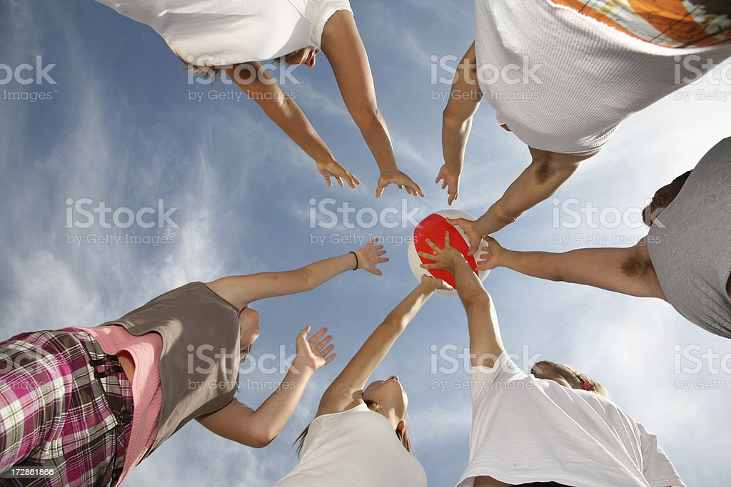 Reach for it stock photo